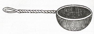 Сачок для сбора мотыля
