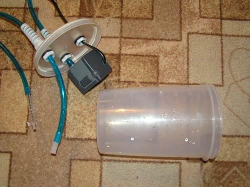 Как сделать маленький фильтр для аквариума своими руками